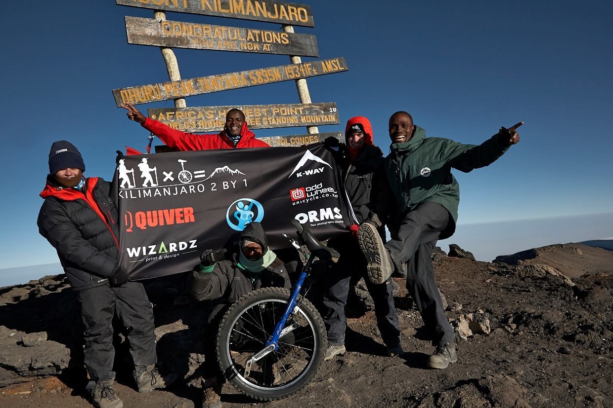 Kili 2 by 1 Summit