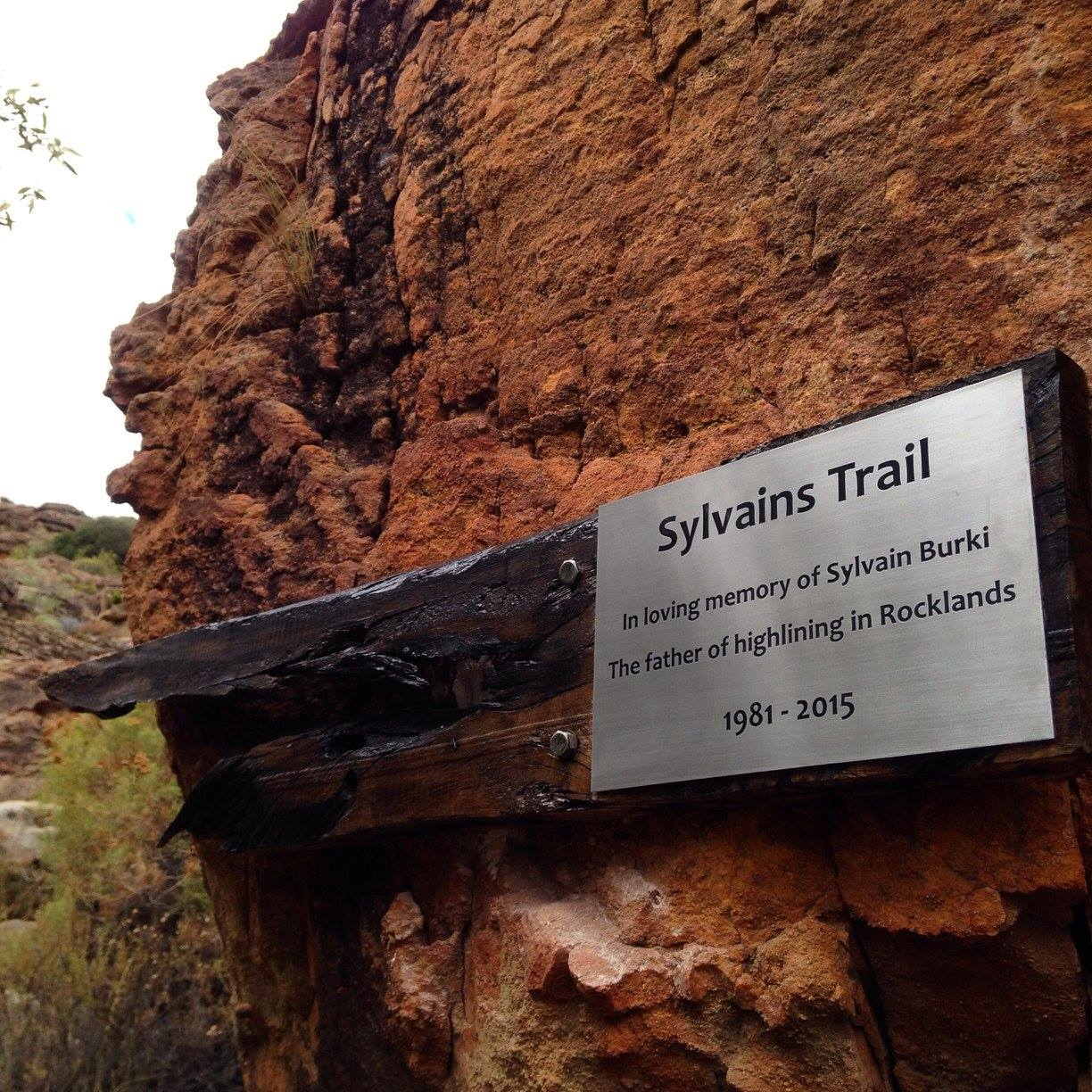 Beautiful plaque added by De Pakhuys owner Thys Kruger - Donna Kisogloo